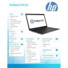 ProBook 470 G5 i7-8550U W10P 256 1TB/16G/17,3 2XZ77ES-165329