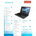 Notebook ThinkPad P52 20M9001HPB W10Pro i7-8750H/8GB/256GB/P1000 4GB/15.6 FHD/3YRS OS -211405