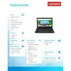 """ThinkPad X280 20KF001PPB W10Pro i5 -8250U/8GB/256GB/INT/12.5""""Touch FHD Blk/3YRS CI -173118"""