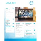 """Latitude 3490 W10Pro i5-8250U/256GB/8GB/Intel UHD 620/14.0""""FHD/42WHR/KB-Backlit/3Y NBD-204686"""