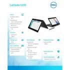 """Latitude 5289 Win10Pro i7-7600U/256GB/16GB/Intel HD 620/12.5""""FHD/Touch/KB-Backlit/60WHR/3Y NBD-117738"""
