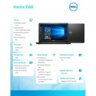 "VOSTRO 3568 Win10Pro i3-6006U/1TB/4GB/DVDRW/Intel HD/15.6""FHD/4-cell/3Y NBD-157866"
