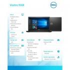 "VOSTRO 3568 Win10Pro i3-7130U/1TB/4GB/DVDRW/Intel HD/15.6""HD/4-cell/3Y NBD -193974"