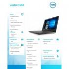 """Notebook VOSTRO 3568 Win10Pro i5-7200U/256GB/8Gb/DVDRW/Intel HD/15.6""""FHD/4-cell/3Y NBD-212136"""