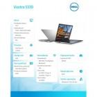 """Vostro 5370 Win10Pro i5-8250U/256GB/8GB/Intel UHD 620/13.3""""FHD/KB-Backlit/3-cel/Silver/3Y NBD-189566"""