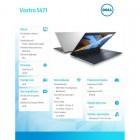 """Vostro 5471 Win10Pro i7-8550U/128GB/1TB/8GB/AMD Radeon 530/14""""FHD/KB-Backlit/3-cell/Silver/3Y NBD-189568"""