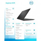 "Inspiron 3579 Win10Home i5-8300H/256GB/8GB/GTX 1050/15.6""FHD/56WHR/Black/1Y Premium Support   1 Y CAR-203419"