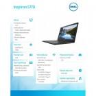 """Inspiron 17 5770 W10Hom i3-6006U/1TB/8GB/Intel HD/DVDRW/17.3""""FHD/Black/42WHR/1Y NBD   1Y CAR-177554"""