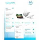 """Inspiron 5370 Win10Pro i3-7130U/128GB/4GB/Intel HD/13.3""""FHD/38WHR/Silver/1Y NBD 1 Y CAR-210867"""