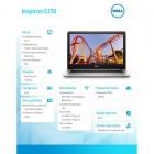 """Inspiron 5370 Win10Home i3-7130U/128GB/4GB/Intel HD620/13.3""""FHD/Silver/38WHR/1Y NBD 1Y CAR-206396"""