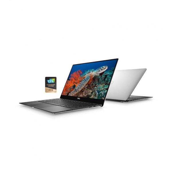 """XPS 9370 Win 10 Pro i5-8250U/256GB/8GB/Intel HD/13.3""""FHD/KB-Backlit/Silver/52WHR/2Y NBD-173388"""