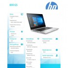 Laptop 830 G5 i5-8350U W10P 256/8GB/13,3 3JX72EA -221001