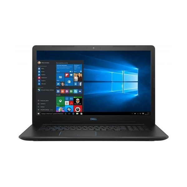 Laptop Inspiron 3779 Win10Home i7-8750H/256/1TB/16/Czarny