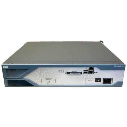 CISCO w/AC,2GE,4HWIC,3PVDM,1NME-X,2AIM,IPBASE,64F/256D