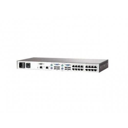 HP 0X2X16 SERVER CONSOLE SWITCH WITH VIRTUAL MEDIA