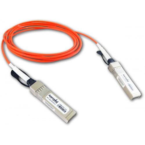 CISCO Compatible 10GBASE Active Optical SFP+ Cable, 5M