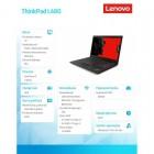 "ThinkPad L480 20LS0016PB W10Pro  i7-8550U/8GB/256GB/INT/14.0"" FHD NT/1YR CI -160133"