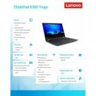 """ThinkPad X380 Yoga 20LH000PPB W10Pro i5-8250U/8GB/256GB/INT/13.3""""FHD Blk Touch/1YR CI -180302"""
