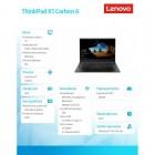 "ThinkPad X1 Carbon 6 20KH006FPB W10Pro i7-8550U/8GB/256GB/INT/14.0"" FHD/BLK/WWAN/3YRS OS-194233"