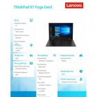 Laptop ThinkPad X1 Yoga Gen3 20LD002JPB W10Pro i7-8550U/8GB/256GB/INTEGRATED/14.0 WQHD Touch Black/ 3YRS OS-190861