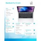 Laptop MacBook Pro 13 Touch Bar, i5 2.3GHz quad-core/8GB/512GB SSD/Intel Iris Plus 655 - Silver-213194