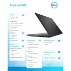 "Notebook Inspiron 5570 Win10Pro i5-8250U/256GB/8GB/DVDRW/AMD Radeon 530/15.6""FHD/42WHR/Black/1Y NBD 1Y CAR-210862"