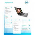 "Inspiron 5379 2in1 Win10Home i7-8550/256GB/8GB/Intel HD/13.3""FHD/Touch/KB-Backlit/Silver/45WHR/1Y NBD 1Y CAR-182667"