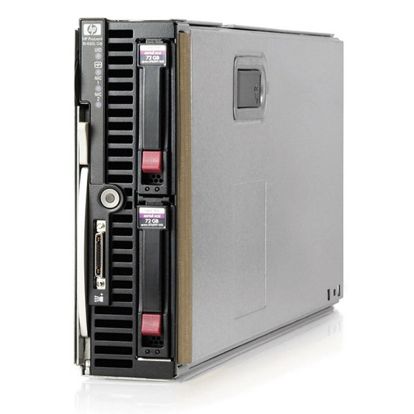 Serwer HP ProLiant BL460c G6 Blade Server (Intel Xeon X5550, 6GB RAM, P410i) | 507778-B21