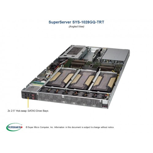 SuperServer 1028GQ-TRT (Black) | SYS-1028GQ-TRT