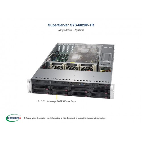 SuperServer 6029P-TR (Black) | SYS-6029P-TR