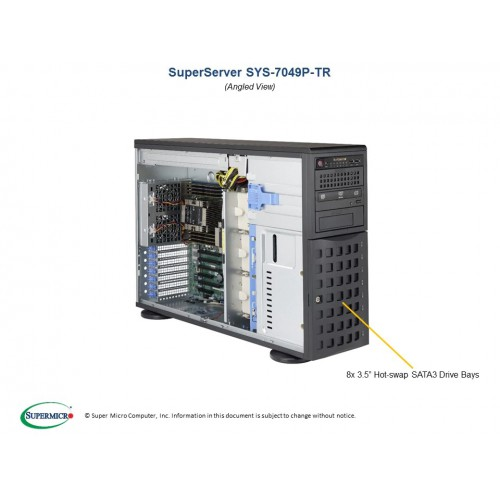 Serwer Supermicro - SuperServer 7049P-TR (Black) | SYS-7049P-TR