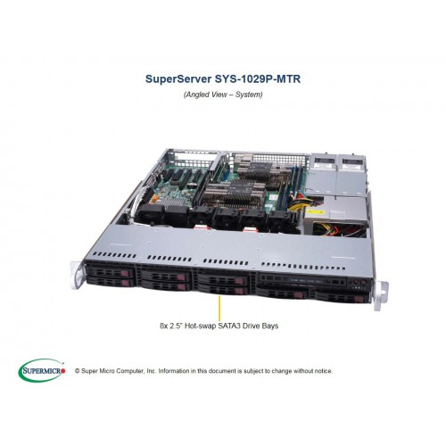 Serwer Supermicro - SuperServer 1029P-MTR (Black) | SYS-1029P-MTR