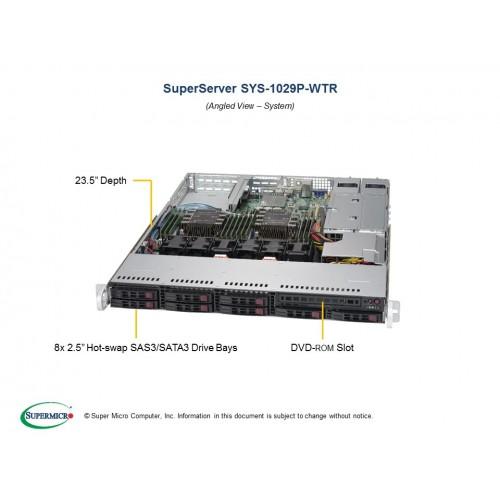 Serwer Supermicro - SuperServer 1029P-WTR (Black) | SYS-1029P-WTR