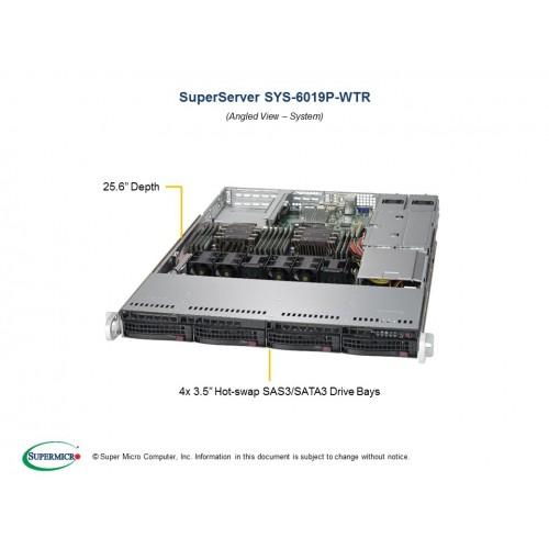 Serwer Supermicro - SuperServer 6019P-WTR (Black) | SYS-6019P-WTR