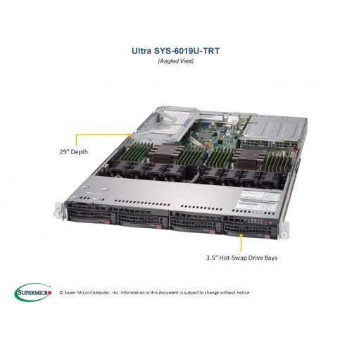 Serwer Supermicro - SuperServer 6019U-TRT (Black) | SYS-6019U-TRT