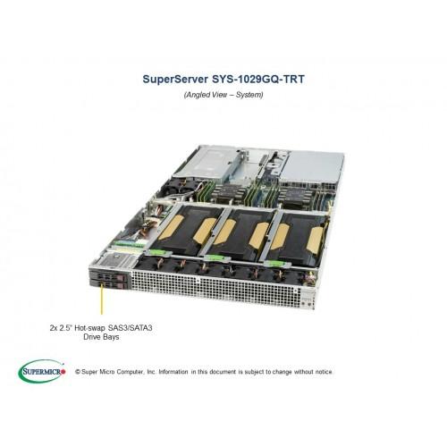 Serwer Supermicro - SuperServer 6029U-TRT (Black) | SYS-6029U-TRT