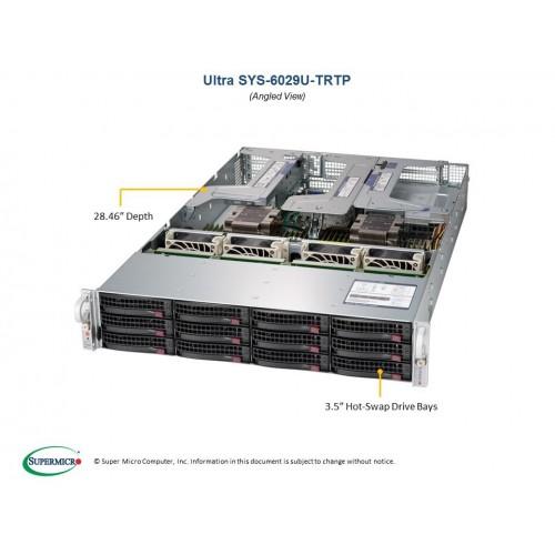 Serwer Supermicro - SuperServer 6029U-TR4T (Black) | SYS-6029U-TR4T