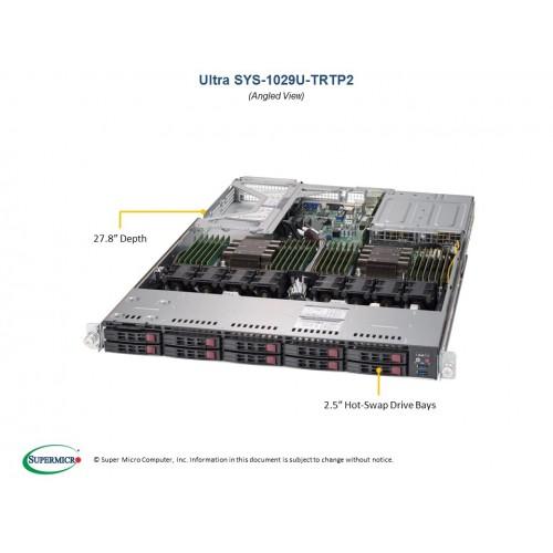 Serwer Supermicro - SuperServer 6029U-TRTP (Black) | SYS-6029U-TRTP