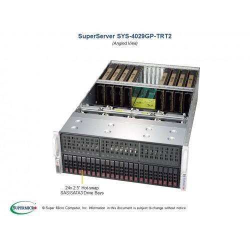 Serwer Supermicro - SuperServer 4029GP-TRT2 (Black) | SYS-4029GP-TRT2