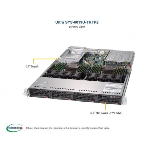 Serwer Supermicro - SuperServer 6019U-TRTP (Black) | SYS-6019U-TRTP