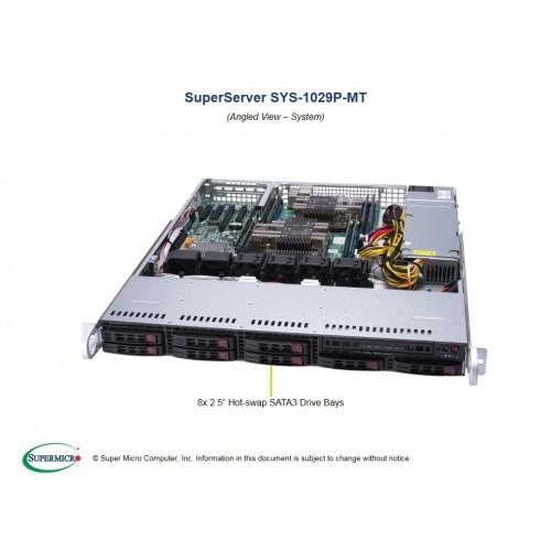 Serwer Supermicro - SuperServer 6019U-TRTP2 (Black) | SYS-6019U-TRTP2