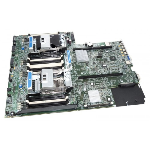 SystemBoard v1/v2 HP DL380 G8, Socket FCLGA2011, dla procesorów Intel Xeon E5-26xx/E5-26xx v2, 2 x CPU, 24 x Ram / 4x USB, RJ45