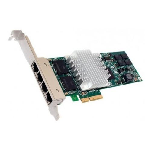 HP, Karta Rozszerzeń PCI-E NC364T 4x RJ45 1Gb - 435508-B21