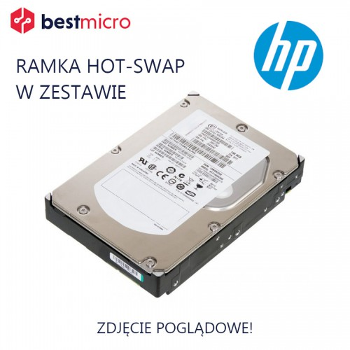 """HP Dysk HDD SATA 500GB 3.5"""" 7.2K 6Gb/s - 658084-001"""