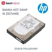 HP Dysk HDD SAS 500GB 7.2k RPM - ST9500620NS