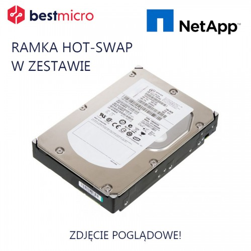 """NETAPP Dysk HDD SAS 2.5"""" 600GB 10k RPM - 108-00221"""