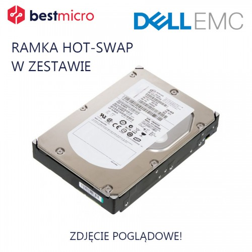 "EMC Dysk HDD SAS 3.5"" 600GB 15K RPM dla VNX - NB-VS15-600"