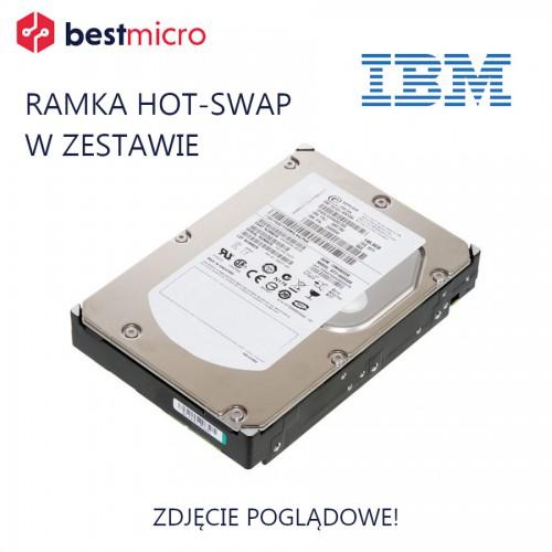 IBM Dysk HDD SAS 2TB 3.5in 7.2K 6Gb T10PI - 90Y9000-T10PI