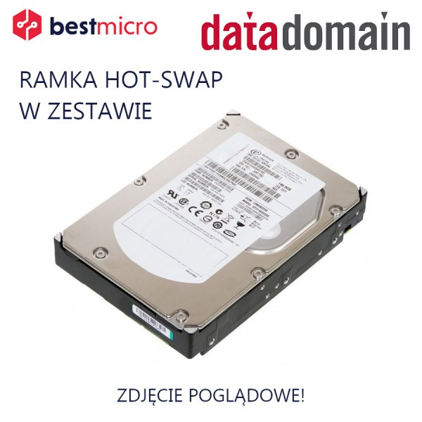 DATADOMAIN Dysk HDD SATA 500GB 7.2k RPM - X-DD6-500GB