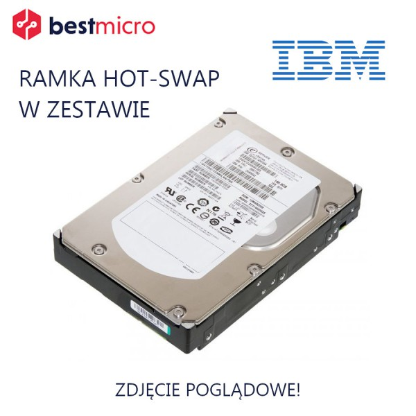 IBM Dysk HDD SAS 3TB 7.2K RPM - 2072-ACKB